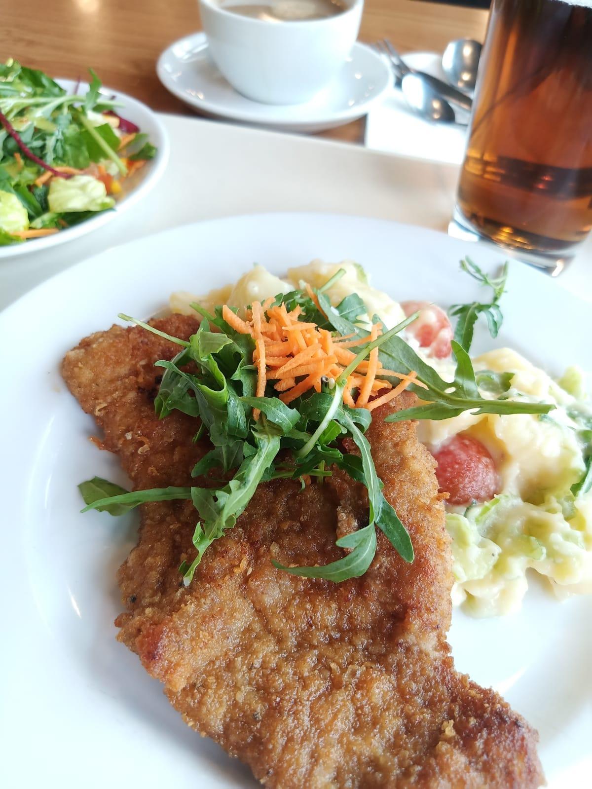 Kalbsschnitzel à la René